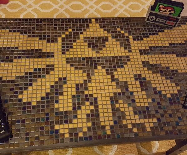 Zelda Coffee Table Tiled Mosaic