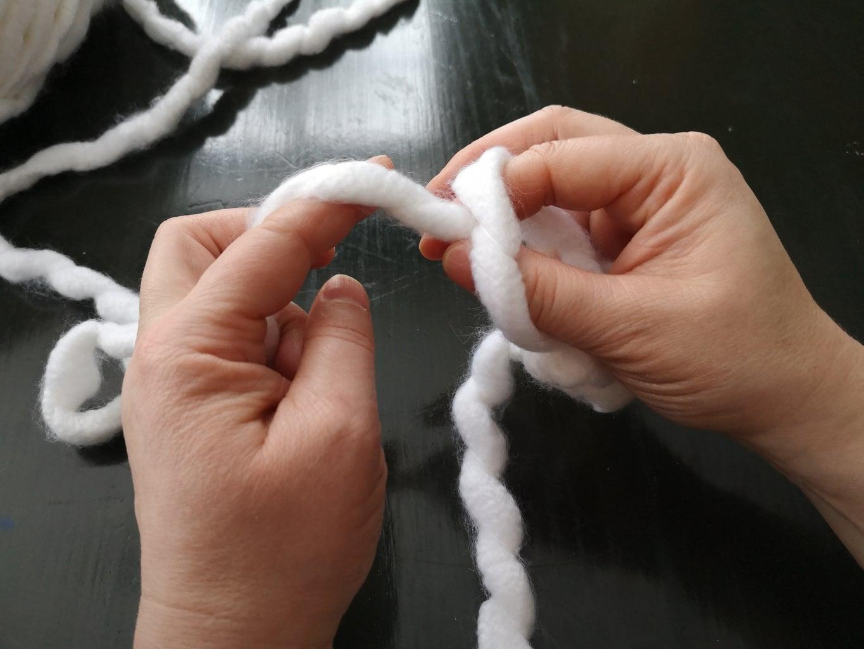 Crocheting the Chain