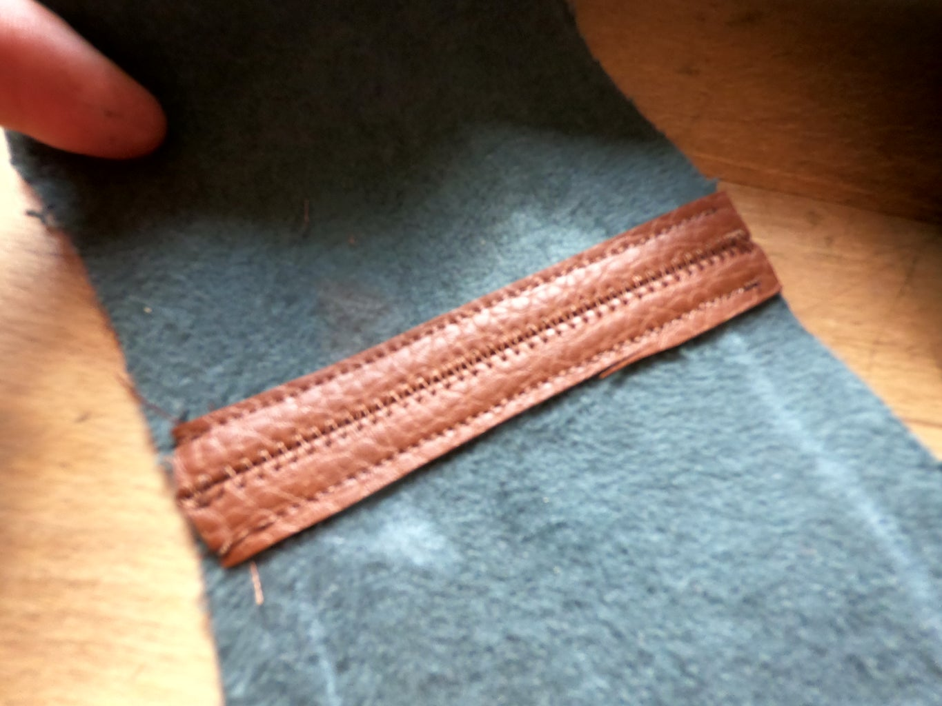 Cut the New Fabric and Start Sewing