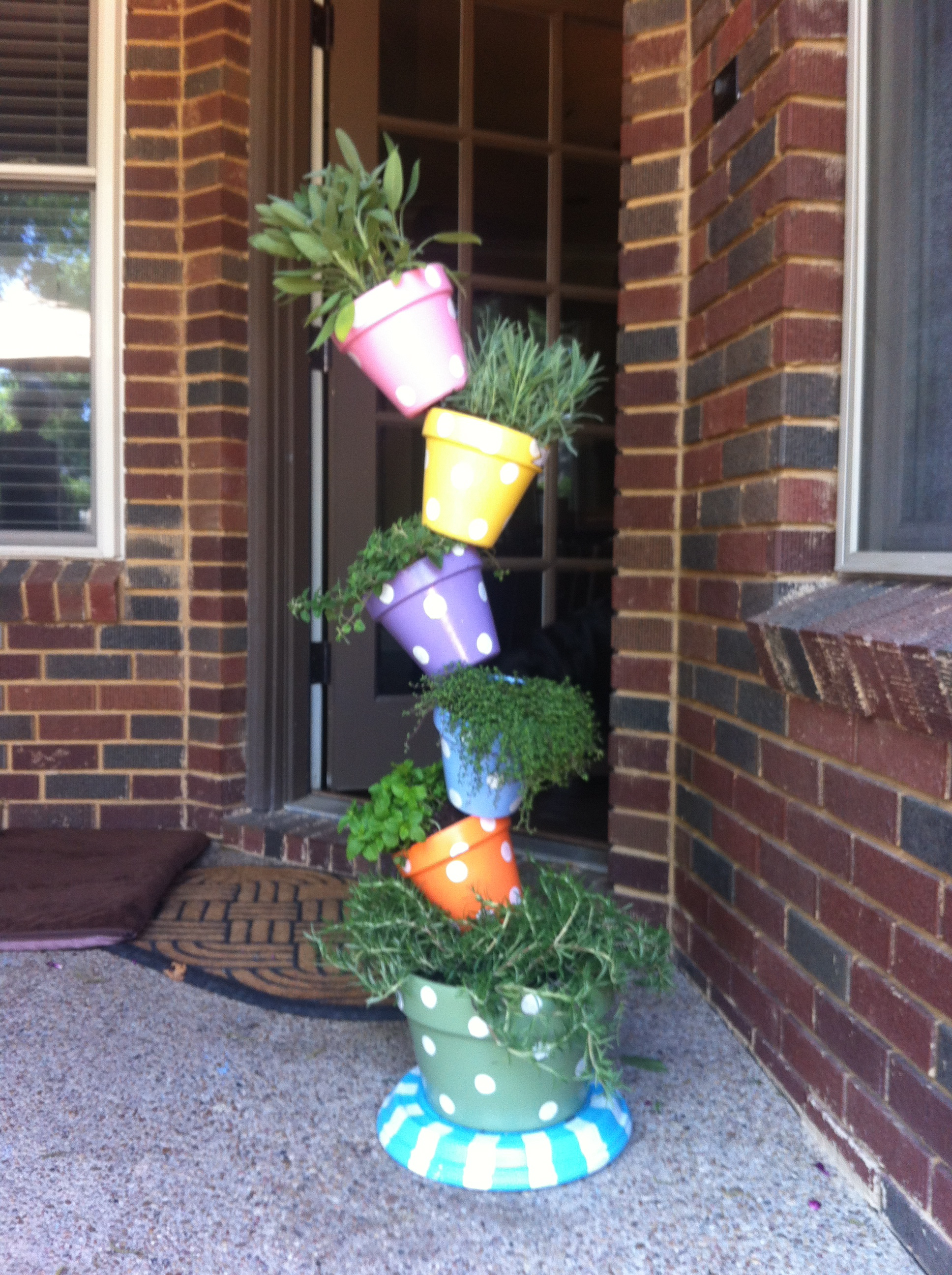 My DIY Instructions for a Tipsy Plant Tower
