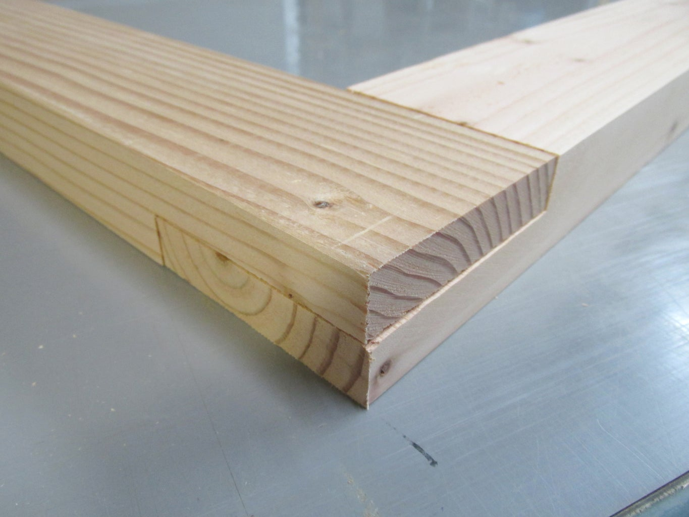 Building the 2X4 Frame: Cutting Half Lap Joints