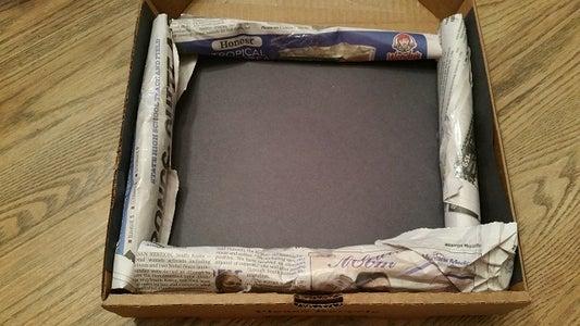 SOLAR OVEN IN a PIZZA BOX