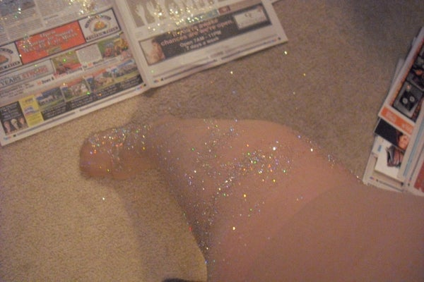 Sparkly Christmas Tights