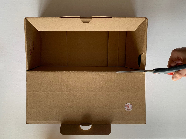 Step 2: Prepare the Cardboard