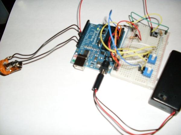 Arduino Photocell Theremin Synth (glitchamin)