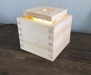 How to Make a Wooden Box Joint Box