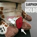 Make a Earphone Holder for $1