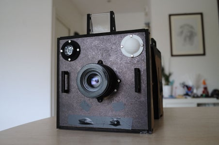 "Arduino Modular Analog ""Instant"" Camera"