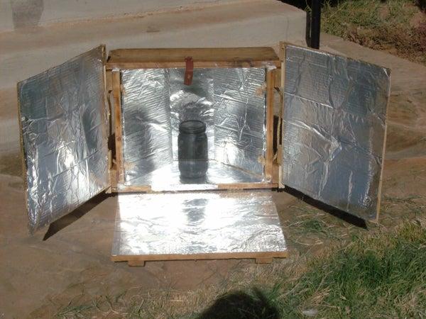 Easy Solar Cooker