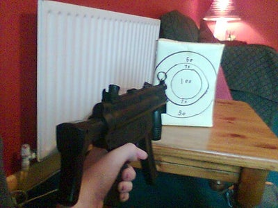Easy Airsoft Target With Bullet Catch!