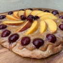 Rustic Grilled Fruit Tart