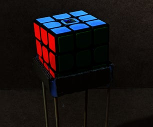 How to Make a Rubik's Cube Stand Version Two