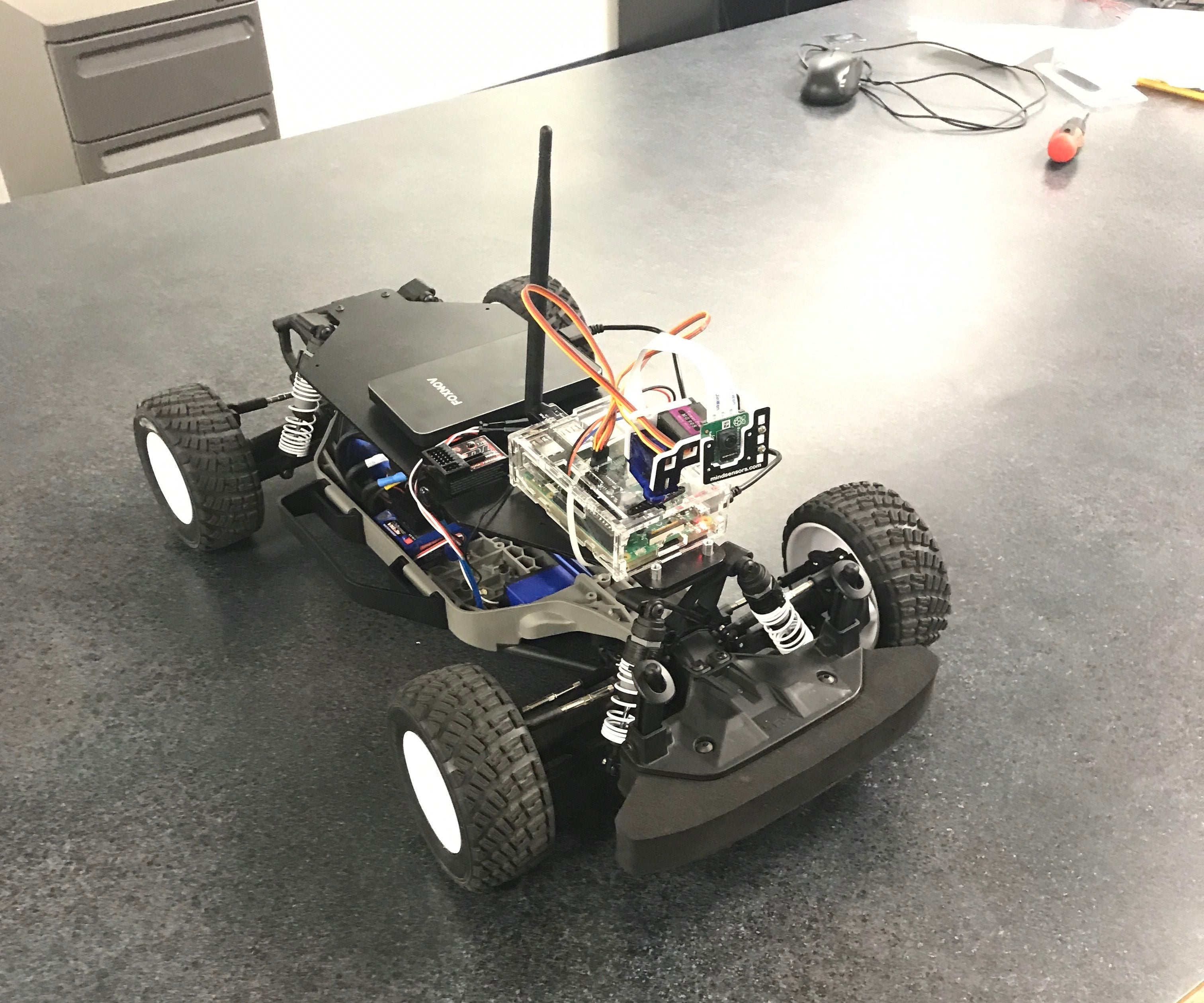 Raspberry Pi Remote Controlled Car 8 Steps Instructables