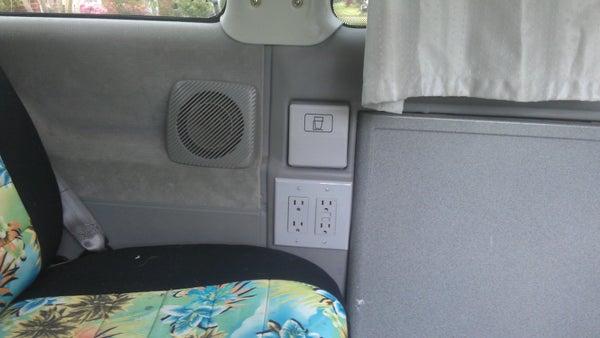 "Adding ""Shore Power"" to a VW Camper Van"