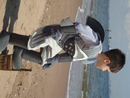 Shark Boy Costume AUNTHENTIC !