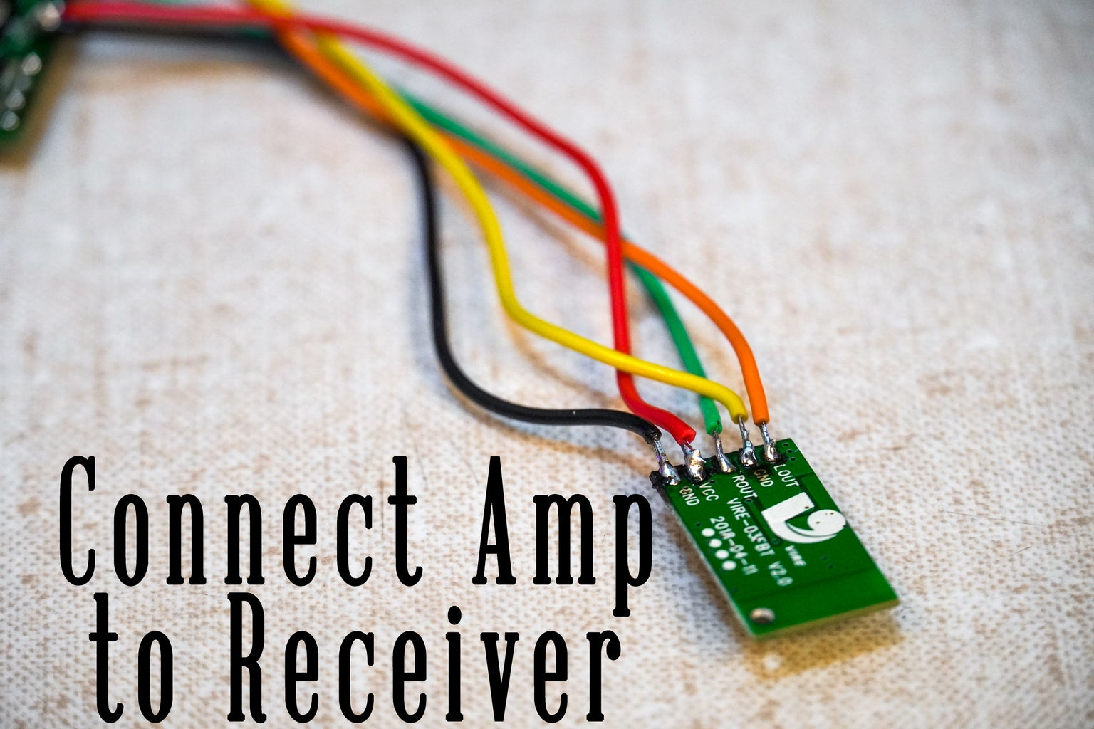 Solder Amplifier and Receiver