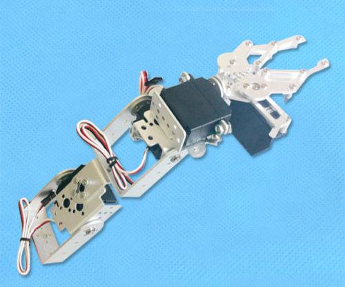 4 DOF mechanical arm build instruction