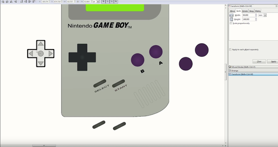 Drawing the Gameboy