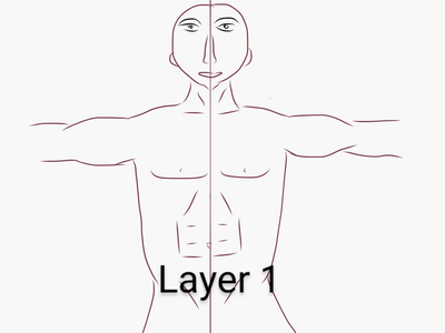 Making of Layer 1(Epidermis/Outer Skin)