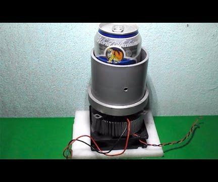 Homemade Mini USB Fridge Frefrigerator Peltier Cooler Thermoelectric DIY