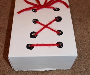A Box to Practice Tying Shoes and Making Bows