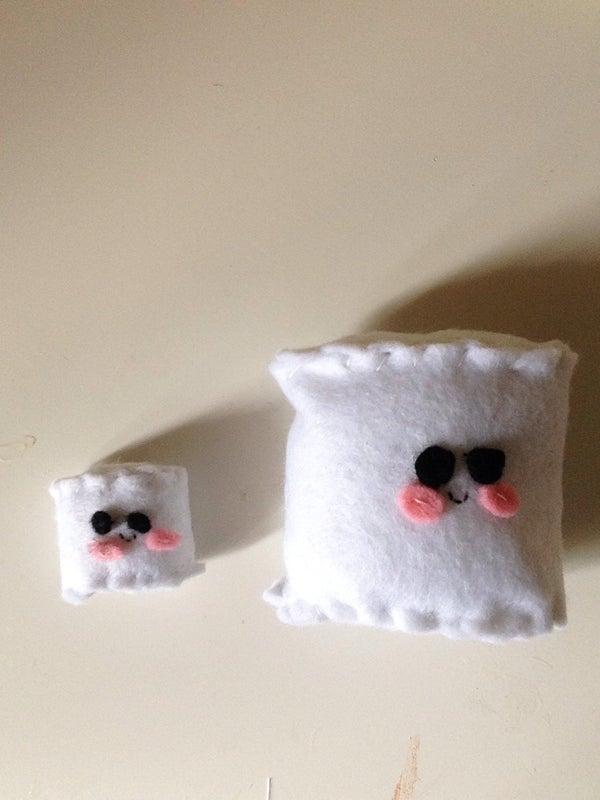Kawaii Felt Marshmallows Plushies