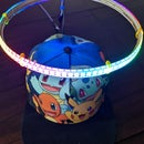 Sound Reactive LED Halo Hat