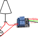 LED Lamp Controlled Through a Relay and Cayenne
