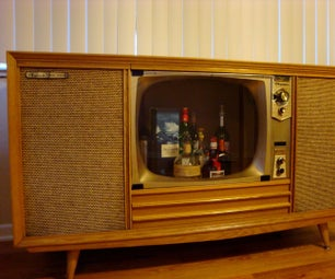Stereo Console Refurbish and Conversion