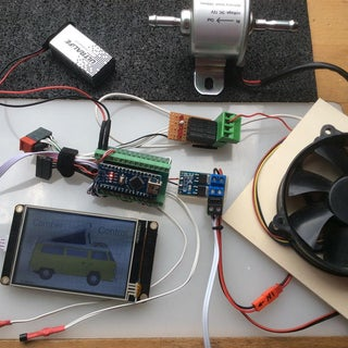 Arduino Based Nextion Touch Controls