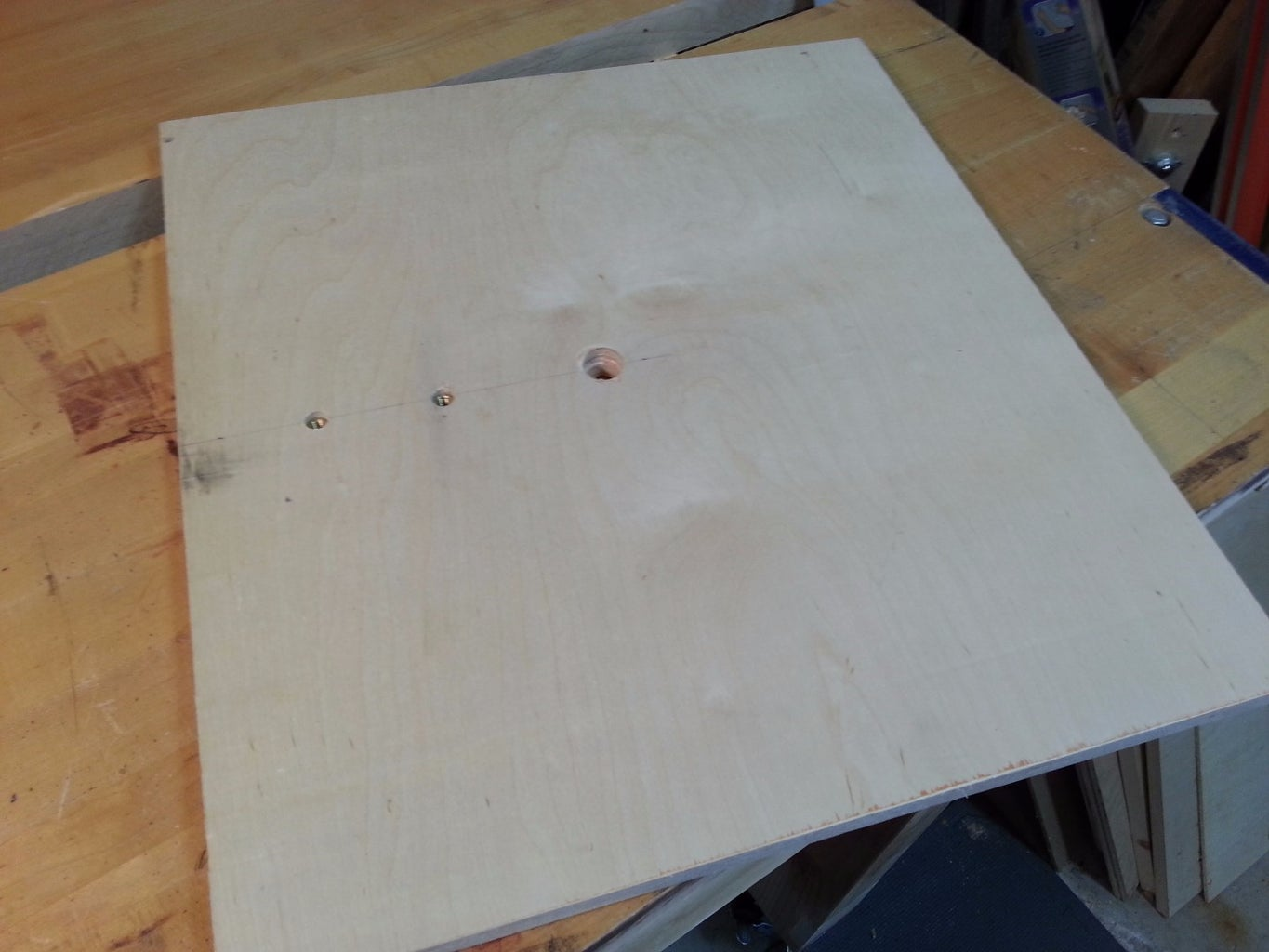 Drill Press Base / Router Table