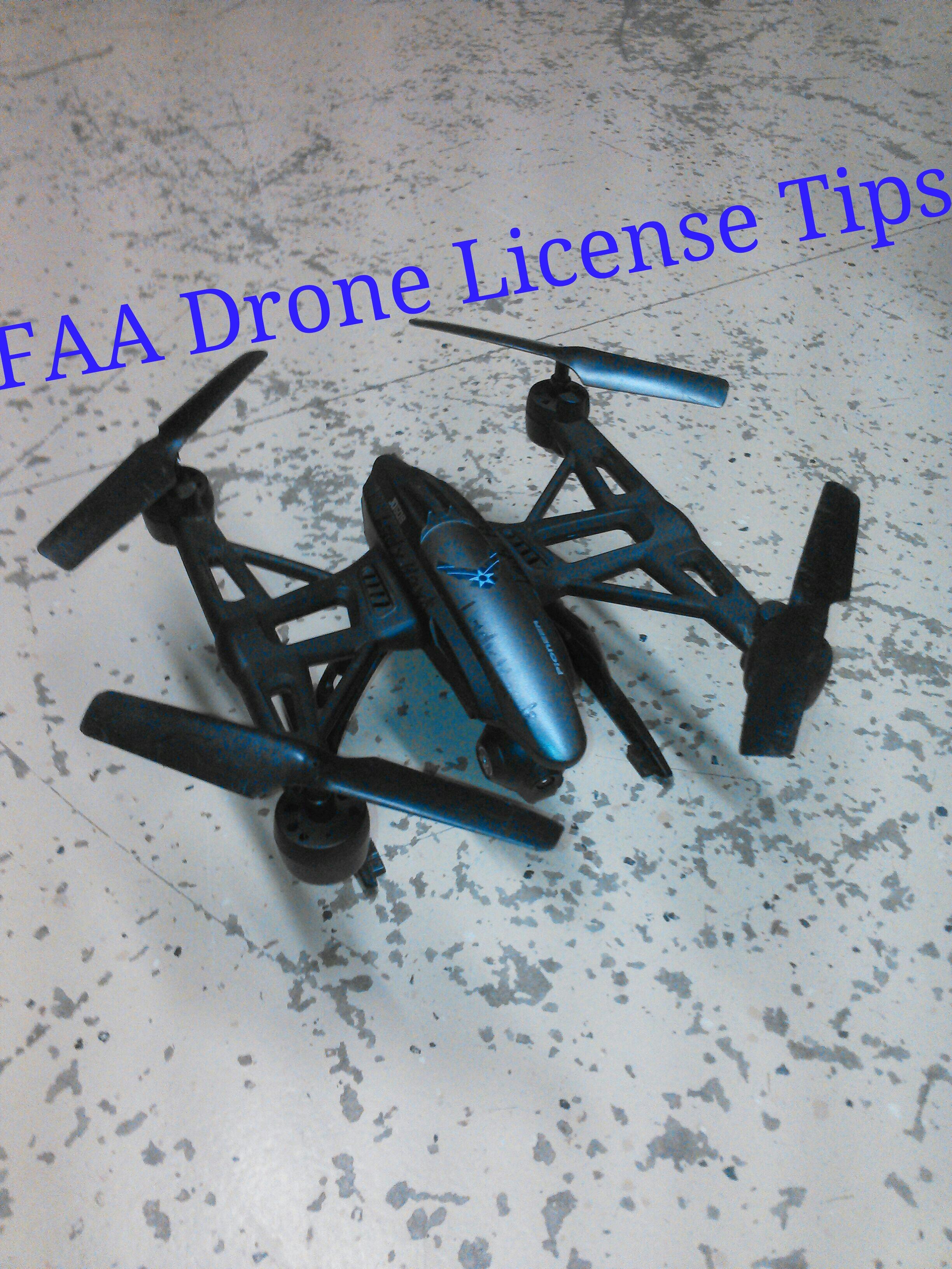 UAS Drone Study Tips
