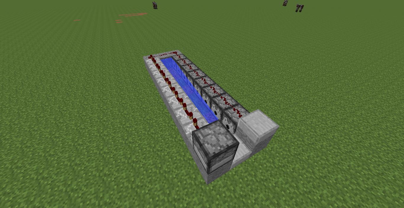 Semi-Automatic Minecraft Cannon