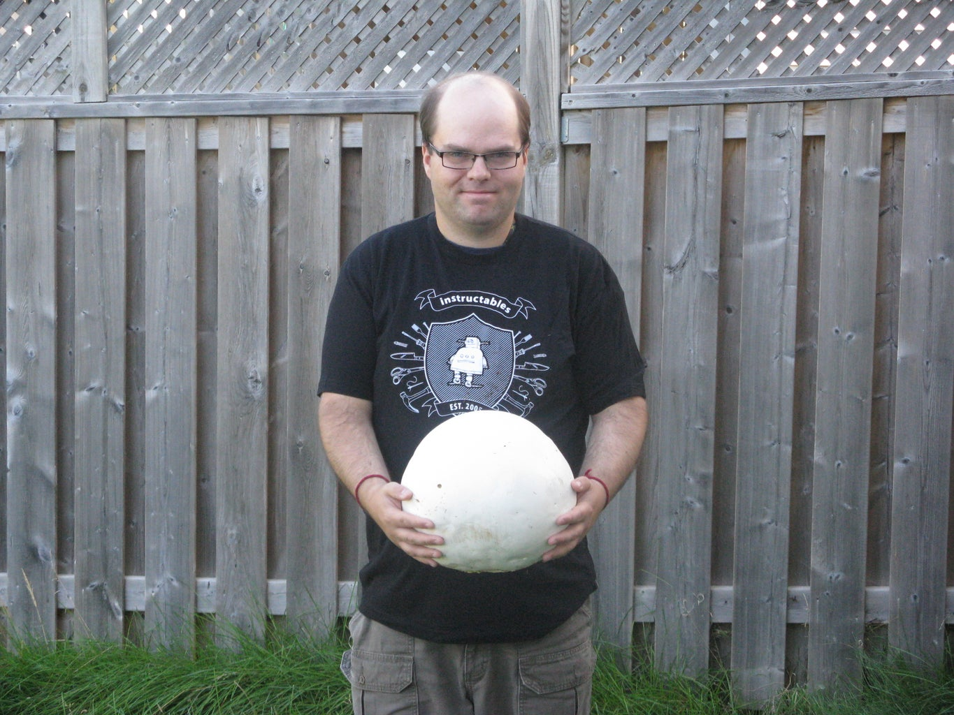Cream of Giant Puffball Soup