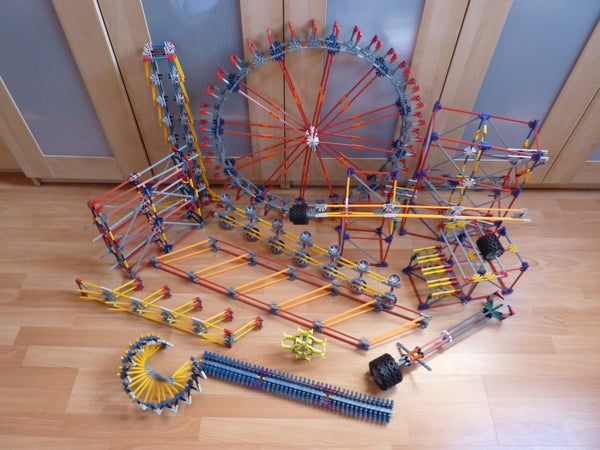 Knex Ball Machine: Dragonfire, Elements