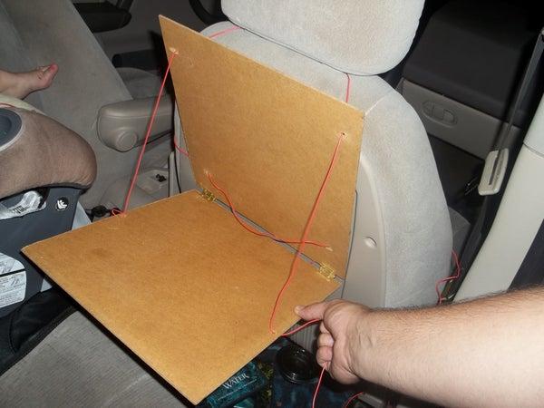 Fold Up Stable Car Activity Tray
