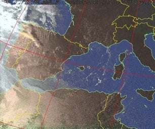 (廉价的)NOAA APT接地站利用RTL-SDR和3D打印。