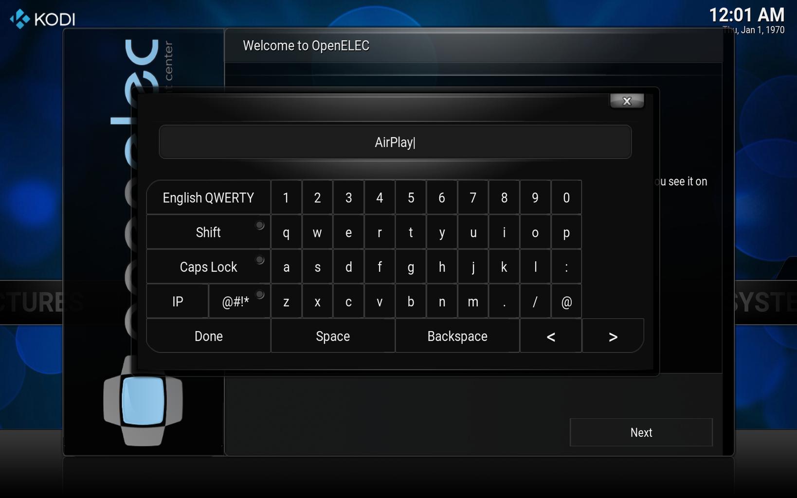 Installing OpenELEC to the Raspberry Pi