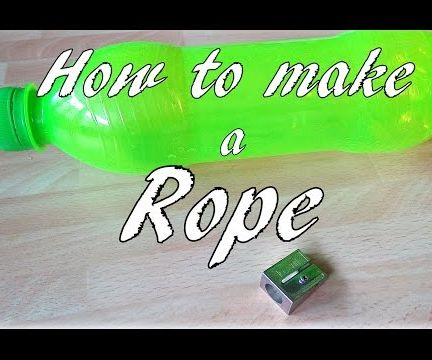 How to Make a Rope From Plastic Bottles