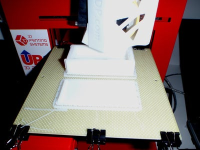 Using the 3D Printer and Removing the Raft