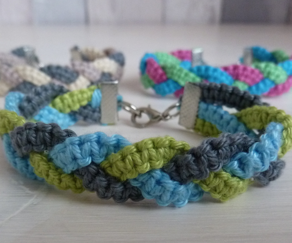 Braided Macrame Bracelet