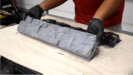 Popping the Cement Mold