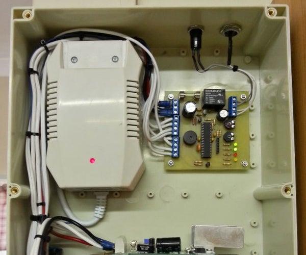 12V, 2A Uninterruptible Power Supply