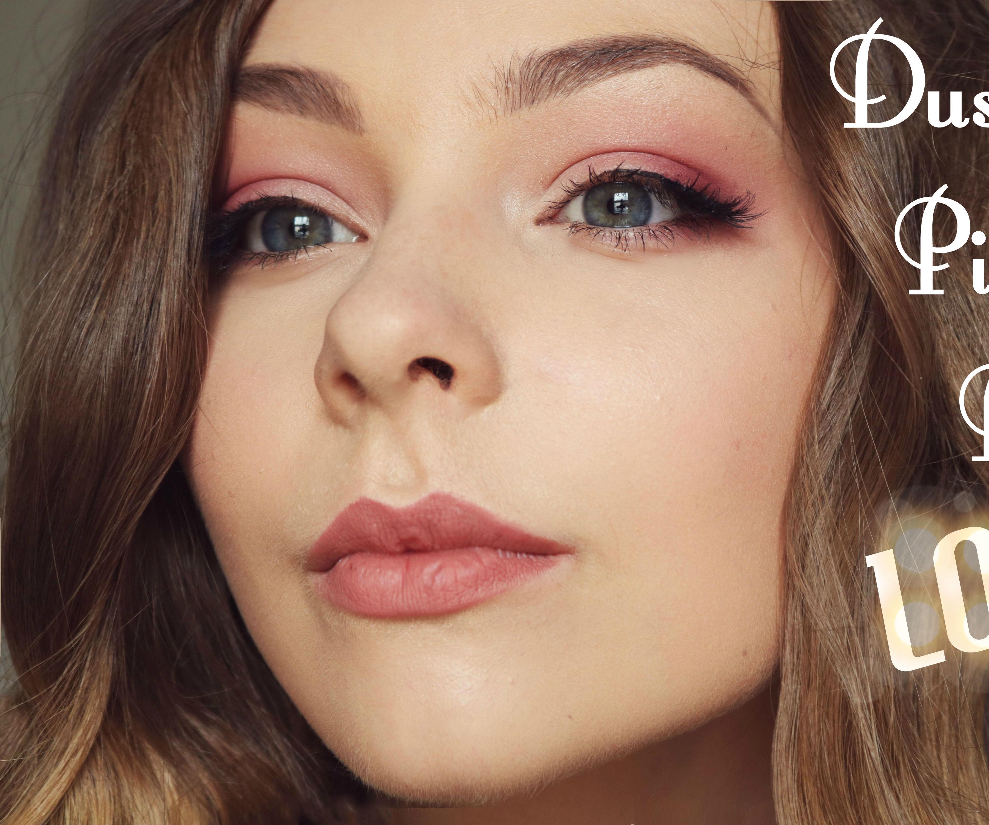Dusky Pink Bridal Makeup Tutorial