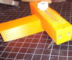 Using Tinkercad to Create a Strip Cutting Tool
