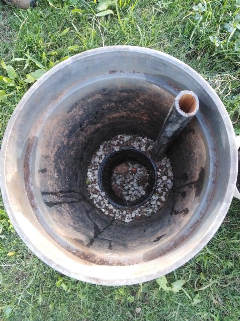 Put Gravel in the Bottom Pot