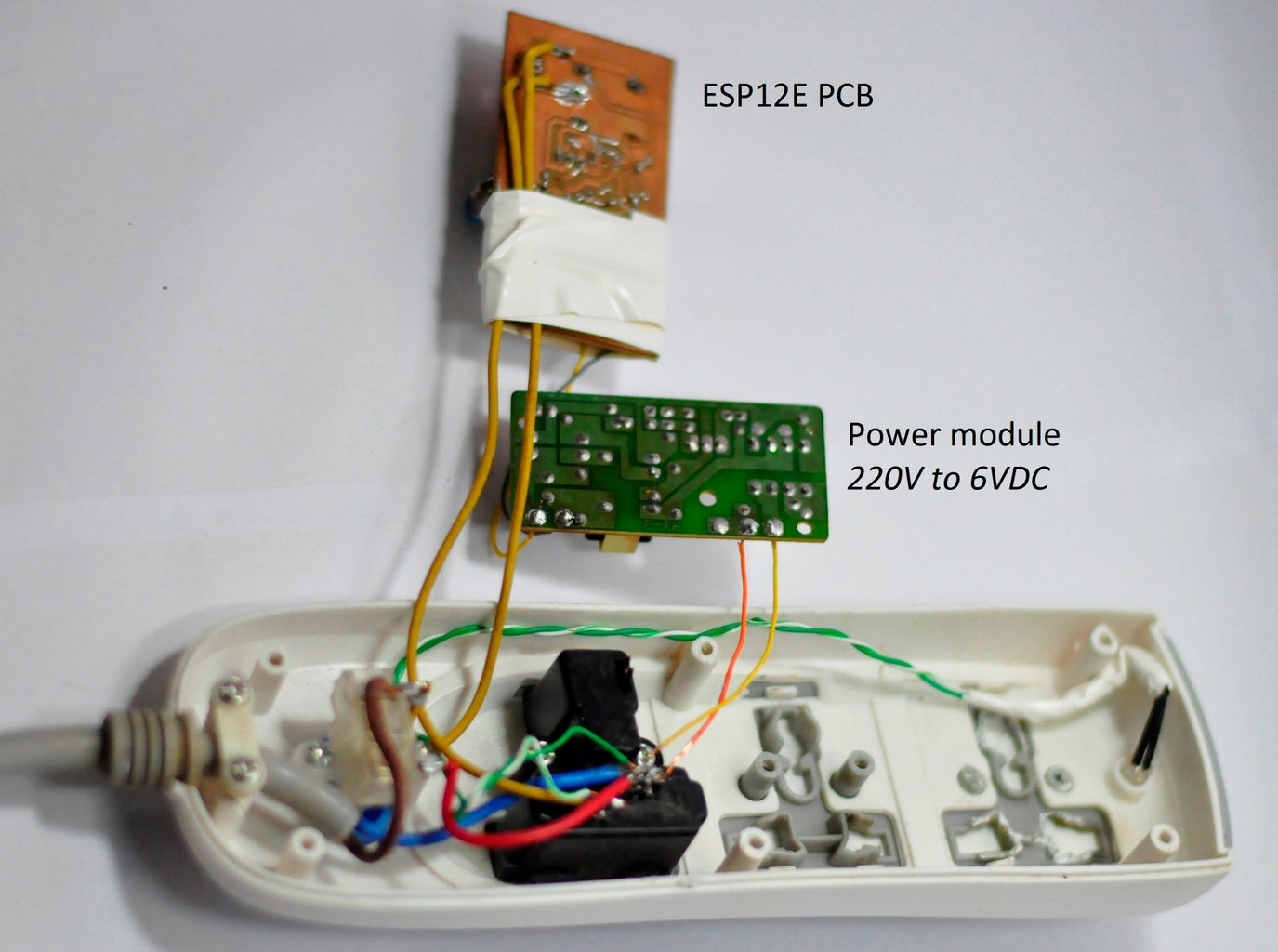 Install PCBs to Socket