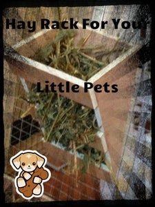 DIY Hay Rack for Little Pets