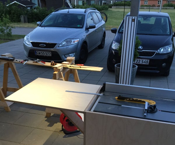Tablesaw Stand
