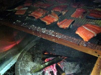 Smoking the Salmon